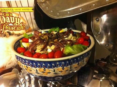 Salad nicoise by aghrivaine