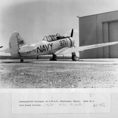 Circa 1948-1957: A Commonwealth Wirraway RAN t...