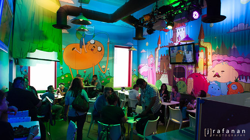 SDCC Cartoon Network Cafe