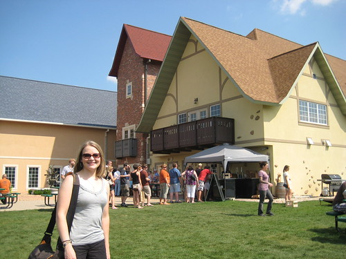 Me at New Glarus Brewery, exterior