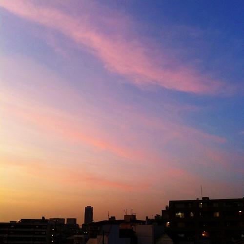 夕焼け    #sunset #iphotography #instagram