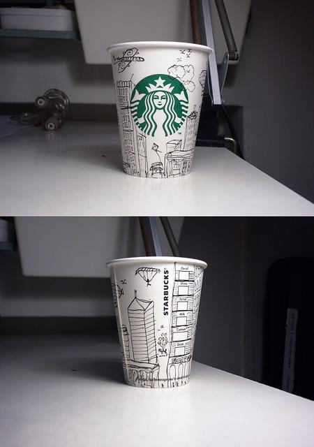 Starbucks X Doodling