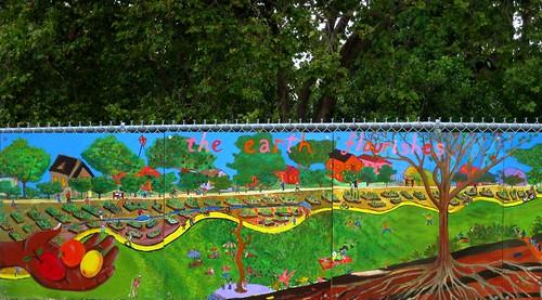 In the Community Garden - 3 by dyannaanfang