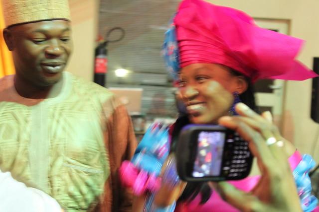 Congratulations to Kannywood actress Sakna Gadaza and Musa Bello on their wedding, 9 July 2011 (5/6)