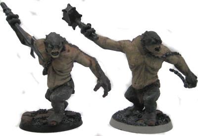 2 Trolls in Standard Poses
