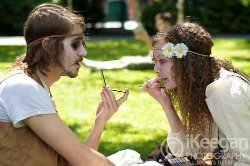 Hippie Zombies by Ian Keegan