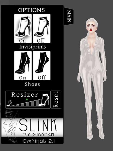 SLink Vixen catsuit: HUD