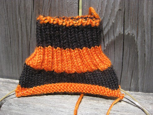 Knitober Soctober Sock by purlingpirate