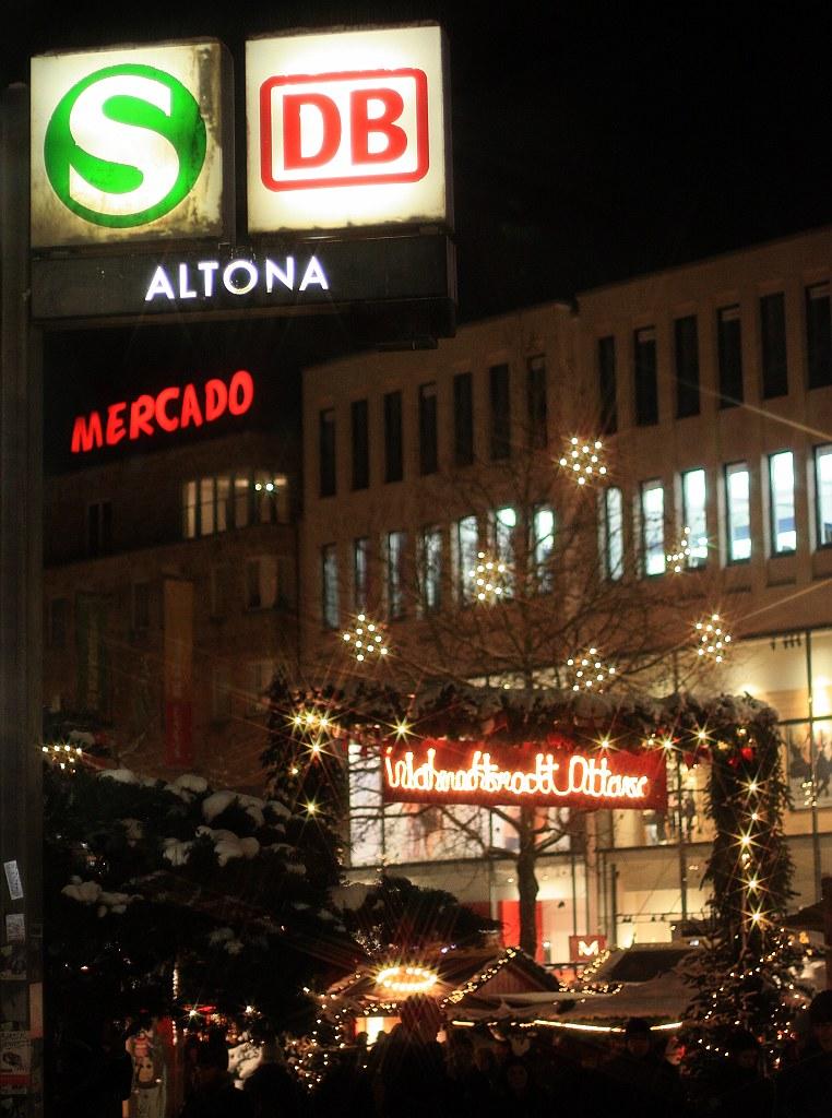 Hamburg Altona Weihnachtsstadt Ottensen