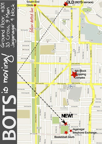 directions to new location