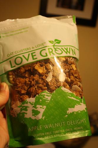 Love Grown Granola Apple Walnut Delight