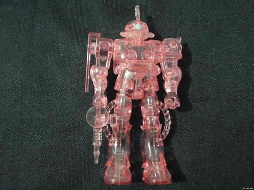 Mini Zaku 1288 {Clear Pink Limited} (2)