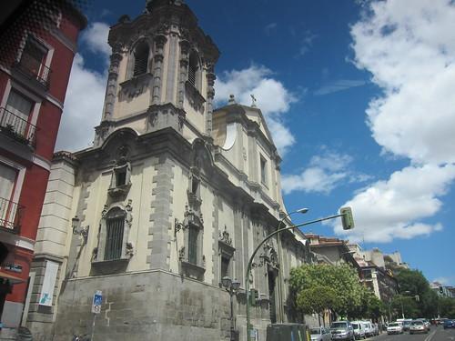 Iglesia Santa María la Real de Montserrat. San Bernardo. Madrid