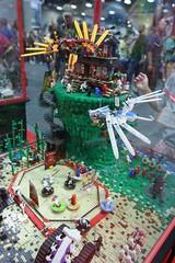 Ninjago Display Case - LEGO Booth at Comic Con - 1