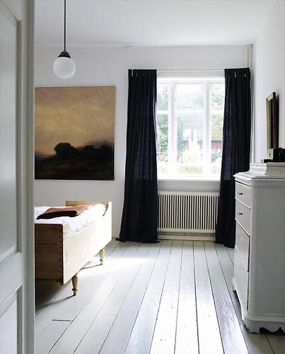 my scandinavian retreat wood bed