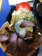 gyro meat plate