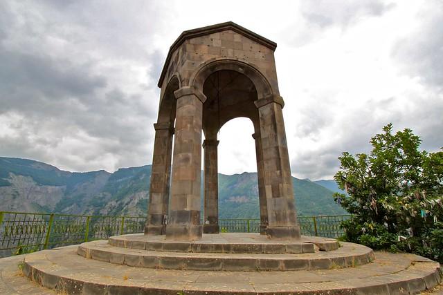 Rocher de la mariée, Tatev, Arménie