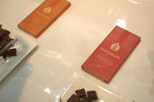 Loving Earth raw chocolates