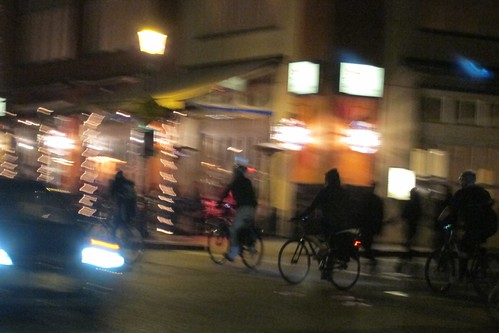 San Jose Bike Party Santana Row