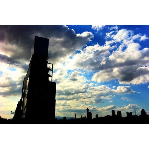 今日も暑い日でしたね。#iphonography #instagram