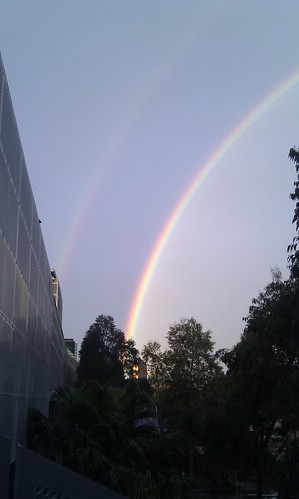 Double Rainbow, Federation Square