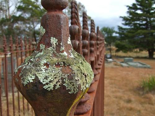 iron post