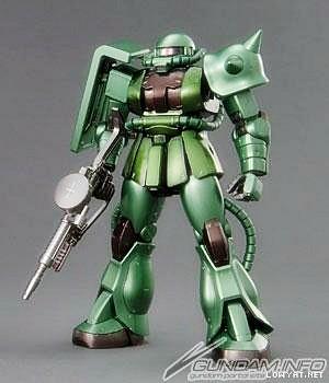 MG2009 {Coating-C3xHobby} - Zaku-II {Green} (1)