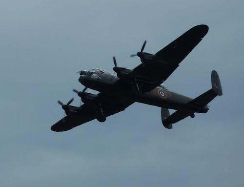 Lancaster Bomber from BBM5 Duxford 2011