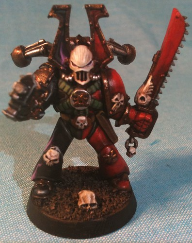 OOP Plastic Khorne Bezerker with arm/weapon swap