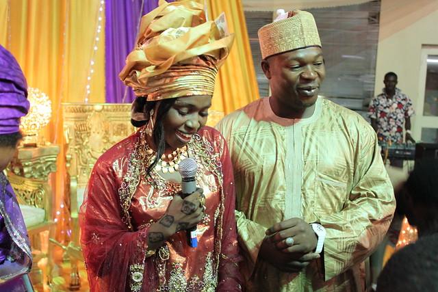 Congratulations to Kannywood actress Sakna Gadaza and Musa Bello on their wedding, 9 July 2011 (2/6)