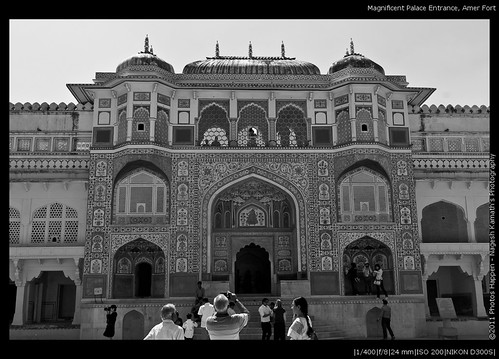 Magnificent Palace Entrance, Amer Fort