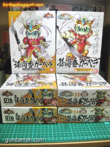 Brave Battle Warriors Sonshoko Gerbera and Shin Sonshoko Gerbera