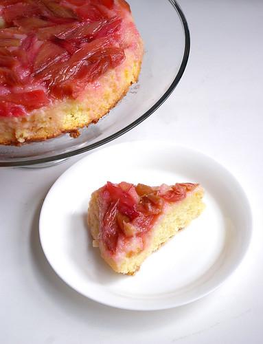 Rhubarb Upside-Down Cake III