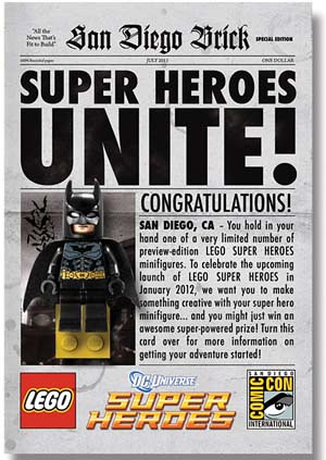 Lego gets DC Comics License