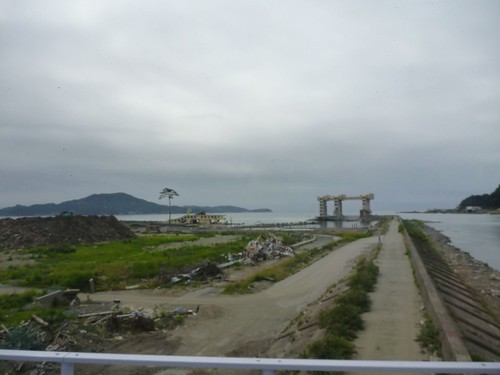 希望の一本松, 陸前高田で被災地ボランティア Rikuzentakata, Iwate pref. Deeply affected area by Huge Tsunami