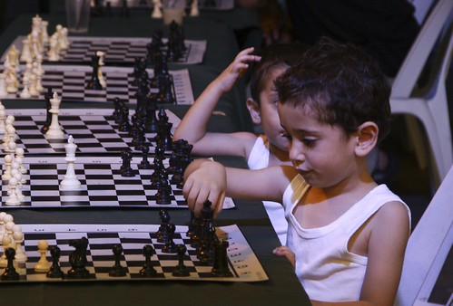 Young chess players