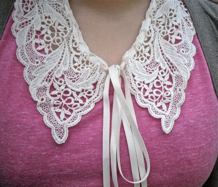 lace collar detail
