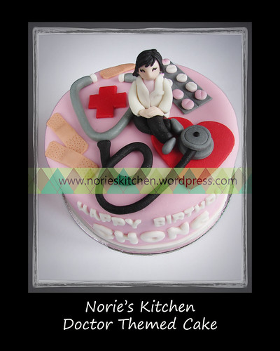 Norie's Kitchen - Doctor Themed Cake