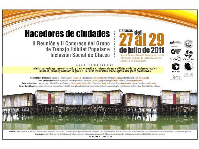 Congreso Hacedores de Ciudad 27-29/07