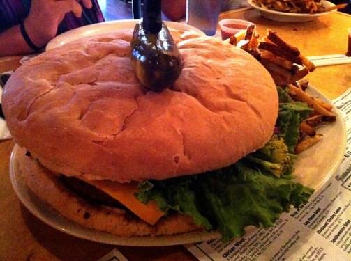 Kookamonga Burger from Kooky Canuck, Memphis, Tenn.