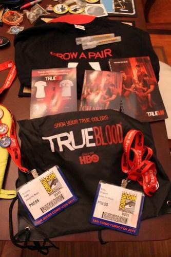 San Diego Comic-Con 2011 free swag