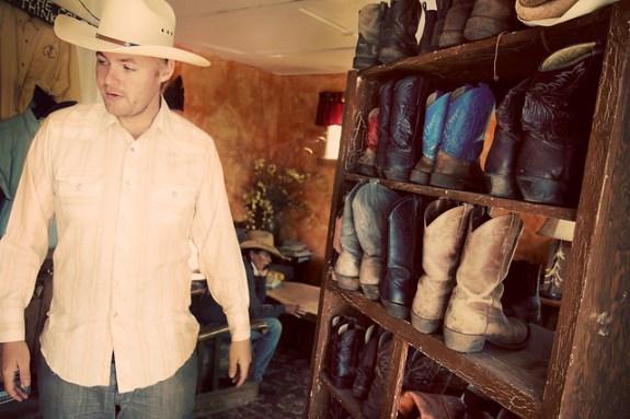 Black Mountain Colorado Dude Ranch andrew hyde boots