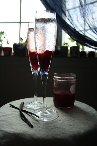 drunken strawberry syrup