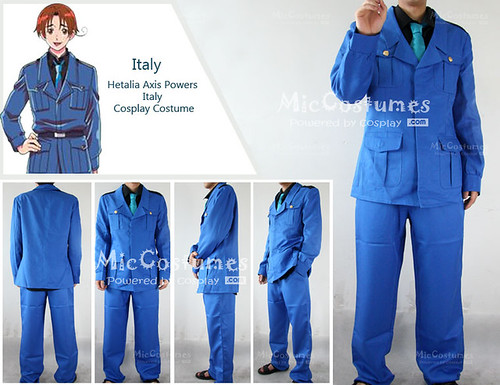 Hetalia Axis Powers Italy Cosplay