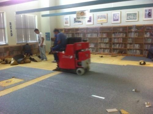 07.28.2011 Removing Carpet