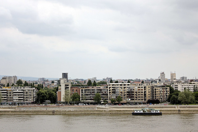 "view of ""new"" novi sad"