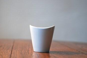 vintage modern ceramic cup