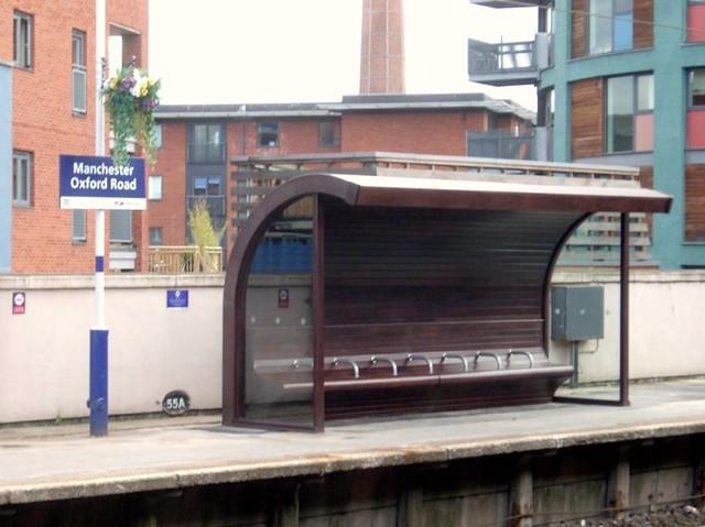 Shelter on platform 1