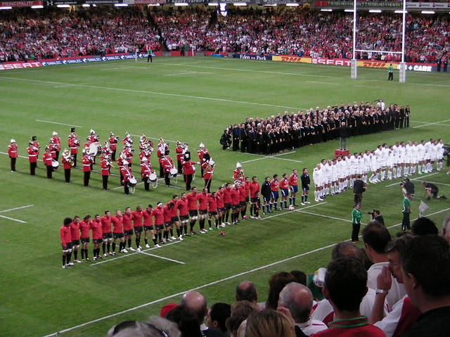 Wales v England RWC Warmup game