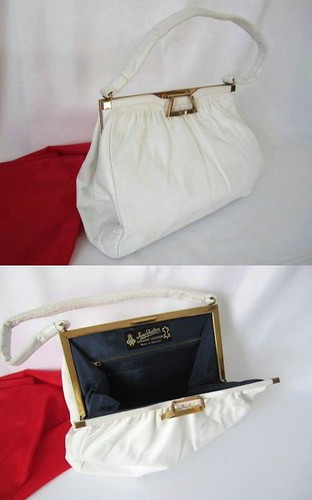 Handbag White Jane Shilton